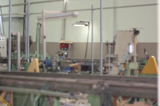 Fábrica de tubos de cristal